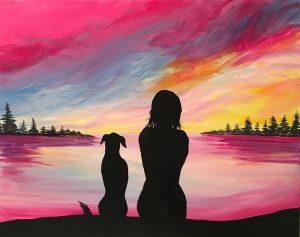 "Painted Cellars ""Sunset Friends"" HSSC Night! @ La Rosa"